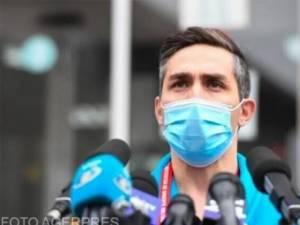Preşedintele Comitetului naţional de coordonare a activităţilor privind vaccinarea împotriva SARS-CoV-2, Valeriu Gheorghiţă Foto: dcnews.ro