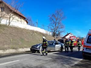 A provocat un accident după ce a ieșit fără a se asigura pe DN 29 Suceava-Botoșani