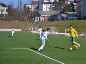 Atacantul Robert Martin a punctat de 3 ori pentru Foresta în disputa cu FC Botoşani U19