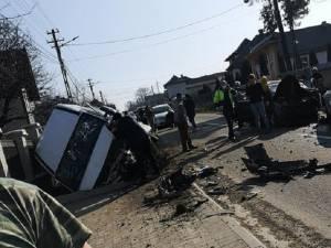 Un accident rutier cu victime multiple a avut loc miercuri după-amiază, la Arbore FOTO facebook Danut Ghiata