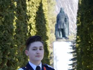 """Miruna Gabriela Duracu, prima elevă de la Colegiul Militar """"Ștefan cel Mare"""" cadet în SUA"""