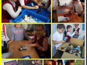 Școala Gimnazială Ipotești a primit kituri de electronică și robotică în valoare de aproximativ 4.000 de euro