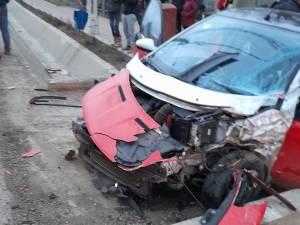 Accident la Salcea FOTO facebook Dumitru Dan
