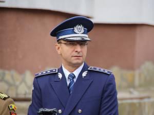 Comisarul-șef Toader Buliga, instalat la conducerea IPJ Bacău