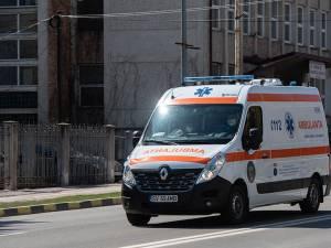 Minerul a fost preluat de un echipaj medical care l-a transportat la spital