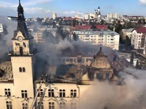 incendiu prefectura