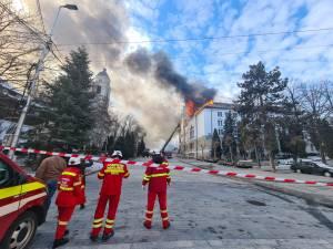 incendiu prefectura suceava