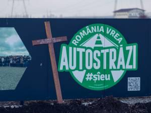 Primul metru de autostradă din Moldova a fost îngropat și i-a pus cruce