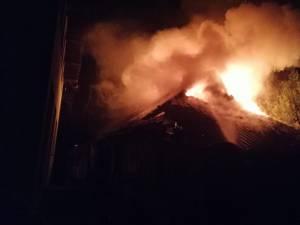 Incendiul de la casa din cartierul Burdujeni Sat