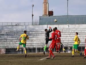 Bucovina si Foresta s-au ales cu cate un punct dupa duelul de la Radauti. Foto Cristian Plosceac