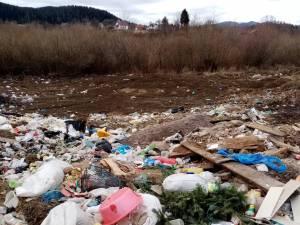 Primăria Putna, amendată de Garda de Mediu pentru gunoiul aruncat pe malul râului Suceava