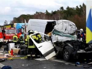 Groaznicul accident din Germania sursa stiridiaspora.ro