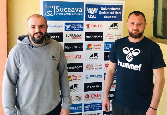 Antrenorii Iulian Andrei şi Adrian Chiruţ au ca obiectiv menținerea echipei în Liga Națională