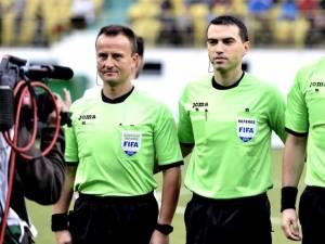 Sovre, Hațegan și Gheorghe au fost delegați în Champions League