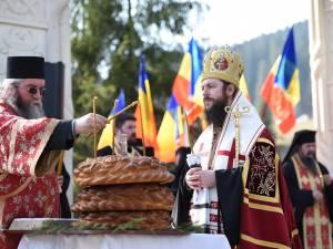 Slujba de pomenire a fost săvârșită de PS Episcop Vicar Damaschin Dorneanul