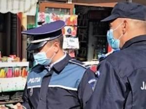 Polițiștii care au desfășurat activități în context Covid-19 au aplicat 85 sancțiuni contravenționale, în valoare de 23500 lei