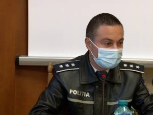 Comisarul-șef Ionuț Epureanu, purtătorul de cuvânt al Inspectoratului de Poliție Județean Suceava
