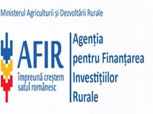 Agenția pentru Finanțarea Investițiilor Rurale (AFIR)