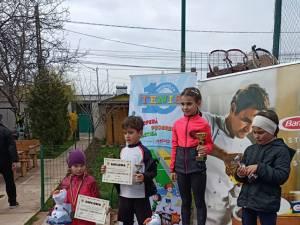 La Nivelul Roşu (8 ani), campioană naţională a fost desemnată Elena Tanase