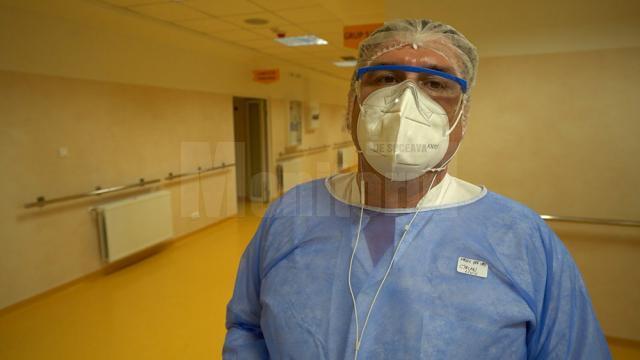 Medicul-șef al Unității de Primiri Urgențe (UPU) a spitalului, dr. Liviu Cîrlan