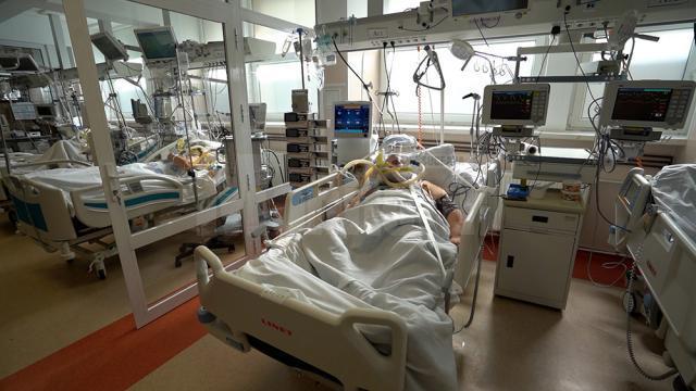 Secția ATI - Covid din Spitalul Județean Suceava