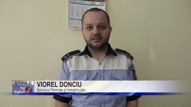 Actualul șef al Serviciului Permise și Înmatriculări Suceava, inspectorul principal de poliție Andrei Viorel Donciu