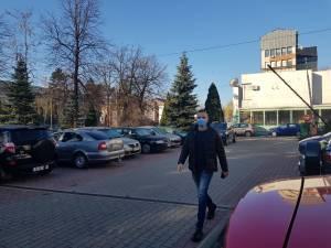 Vinerea verde - Indiferent de vreme, angajații DS Suceava vin la muncă pe jos, în fiecare zi de vineri