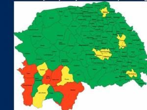 Scenariile corespunzătoare localităţilor din judeţul Suceava
