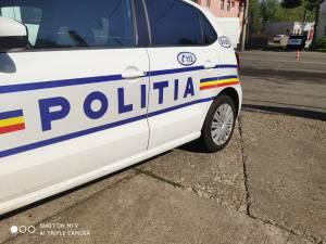 Un echipaj de la Biroul Rutier Suceava a acționat după un apel la 112