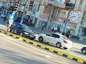 Şoferul sucevean circulând pe contrasens. Foto: www.botosaninews.ro