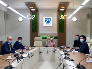 Angelica Fădor a discutat cu directorul CNAIR despre stadiul proiectului Autostrăzii Nordului