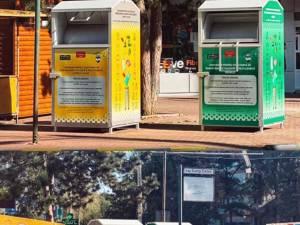 Containerele de colectare a donațiilor, amplasate în patru locații din municipiul Suceava