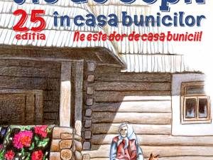 """Concursul de desene """"Vis de copil în casa bunicilor"""", anul acesta online"""