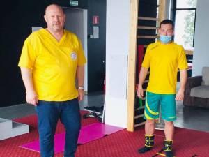 Radu Ungurianu se recuperează sub îndrumarea lui Ghiţă Păcurariu