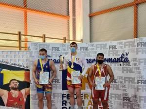 Cei trei medaliaţi ai CSM Suceava la Cupa României pentru juniori
