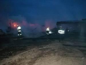 Pagube de 60.000 de euro în urma incendiului de la gaterul din Bilca