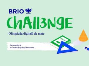 A fost lansată a II-a ediție a Olimpiadei digitale de matematică Brio Challenge