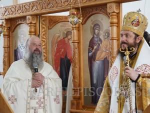 """Duminică a fost instalat noul stareț la Mănăstirea """"Acoperământul Maicii Domnului"""" - Fetești-Adâncata"""