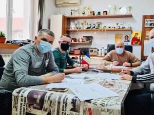 """Tragerea la sorți a grupelor a avut loc la sediul cotidianului """"Monitorul de Suceava"""""""