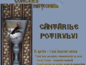 """Au început înscrierile pentru Festivalul-concurs național """"Cântările potirului"""""""
