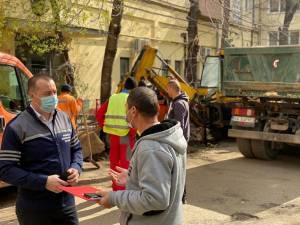 Lucrări de modernizare pe strada Ion Grămadă, pe o suprafață de 1200 de mp