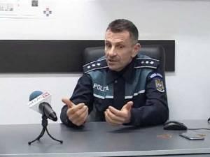Comisarul-șef de poliție Marian Pătrașcu. Foto Ziarul de Vrancea