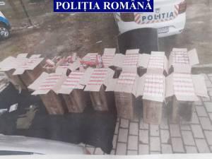 Prins în timp ce transporta cu o Skoda Octavia țigări de peste 100.000 de lei
