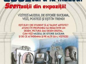 """Proiectul """"COOLtura la muzeu! SEENzații din expoziții!"""", lansat la Muzeul Național al Bucovinei"""