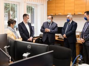 Delegaţie a Ministerului Culturii, în frunte cu ministrul Bogdan Gheorghiu, la USV
