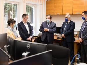 Delegație a Ministerului Culturii, în frunte cu ministrul Bogdan Gheorghiu, la USV