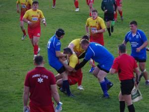 Sucevenii au câștigat derbiul Bucovinei la rugby