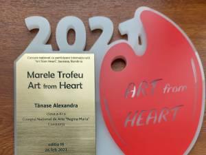 """730 de participanți la Concursul de Arte Vizuale """"Art from Heart"""", organizat de Colegiul de Artă Suceava"""
