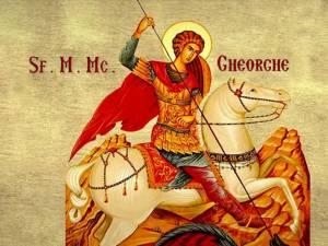 Marele Gheorghe, sfântul martir purtător de biruinţă