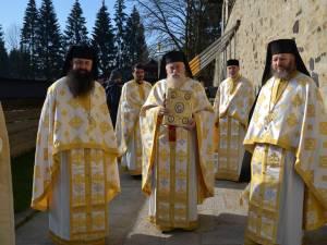 Sărbătoarea Floriilor, la Mănăstirea Voronet Foto Constantin Agafiței